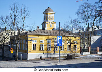 The Old Town Hall, Lappeenranta - The Old Town Hall in...