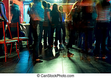 concerto - spectators on concerto in club
