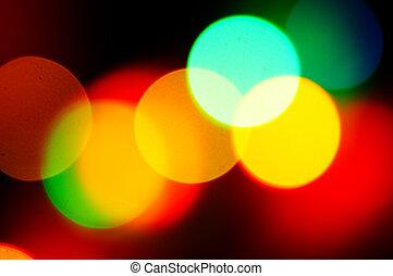glares of the light - bright glares of the light on black...