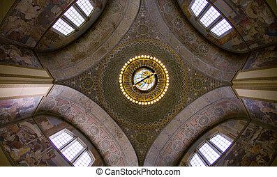 Beautiful Rotunda - Los Angeles Public Library Rotunda