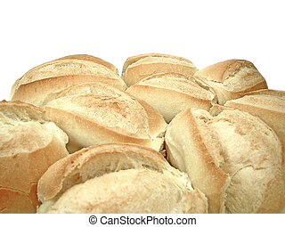 group of french bread, a traditional bread from brazil