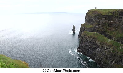 Cliffs of Moher and Atlantic Ocean Most famous landmark in...