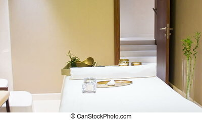 inside interior in the Spa - all you need for preparing your...