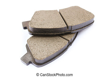Brake pads car - Brake pads for the front suspension of the...