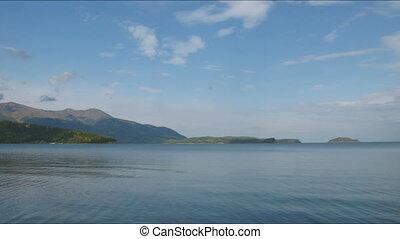Time lapse of Baikal lake