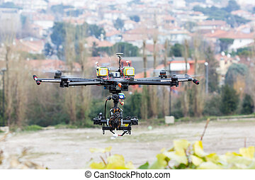 zángano,  hexacopter