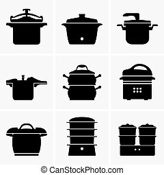 Pressure cookers - Set of Pressure cookers
