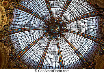 Galeries Lafayette interior in Paris The architect Georges...