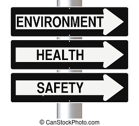 Environment, Health and Safety - Conceptual one way street...