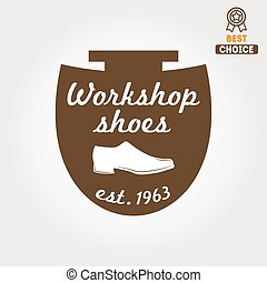 Vintage logo, badge, emblem or logotype elements for...