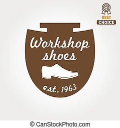 Vintage logo, badge, emblem or logotype elements for...