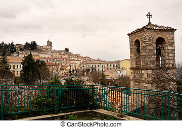 Saint Valentine in hither Abruzzo - Tipical italian village:...