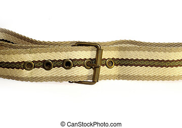Female belt with cloth.
