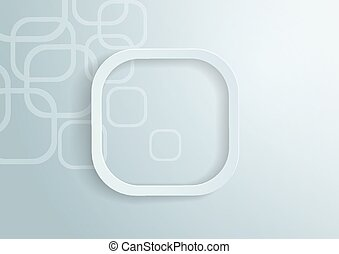 Paper Rounded Rectangles Background