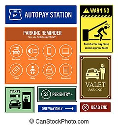Car Park Reminder and Information
