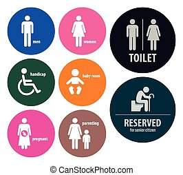 Toilet Signs Restroom Signboards