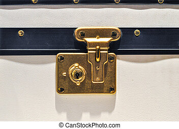 Luggage Lock - Traditional Clasp and Latch Luggage Lock