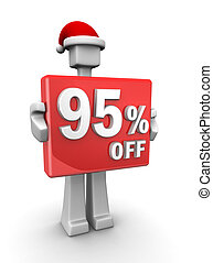 Christmas celebration seasonal sales - Christmas sales...