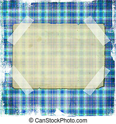 Shabby blue Background with Lines
