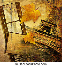 Autumn In Paris - Vintage style