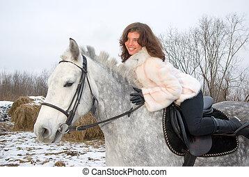 girl horseback