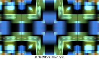 colored rectangular shapes - Fast moving colored rectangular...