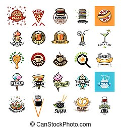 biggest collection of vector logos Food