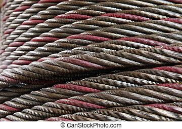 Wire hawser