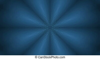 octagonal pattern - Bright octagonal pattern moves from the...