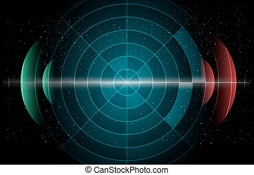 Astronomy Background - Abstract astronomic futuristic...