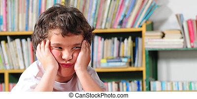 Preschooler - Upset preschooler.