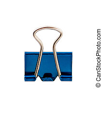 blue office clamp
