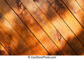 wooden planks - brown wooden planks