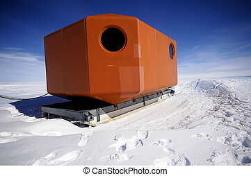 Antarctic mobile home