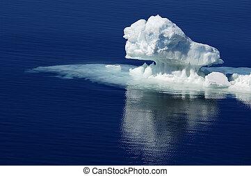 Pure Antarctic ice