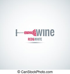 wine cellar bottle background