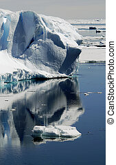 Iceberg reflections