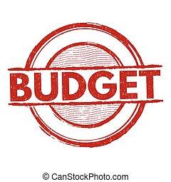 Budget stamp