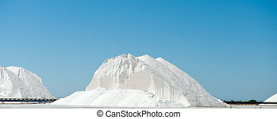 Saltworks - Huge mountain of salt