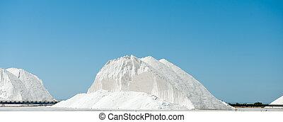 Saltworks - Huge mountain of salt