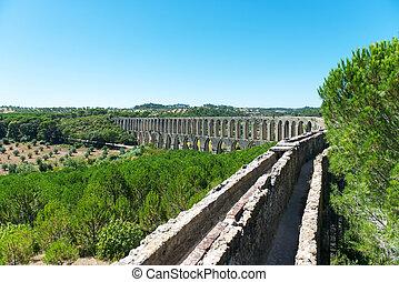 Aqueduct - Roman aqueduct in Portugal