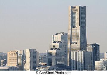 Yokohama Minato Mirai 21 in Japan