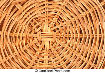 Straw background - Twisted dry straw background, close up,...