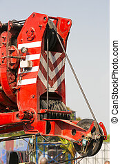 Crane automobile crane with