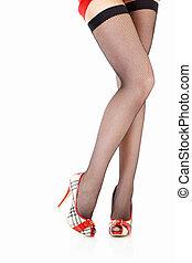 Sexual female legs
