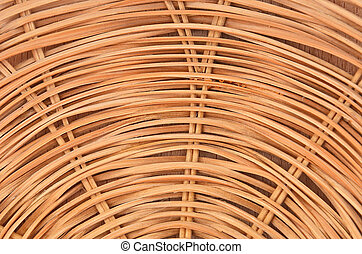Wickered twig background, - Wickered dry twig wooden...