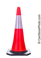 Traffic cone - Facilities for traffic cones on the road...