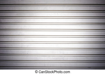 metal security roller door background