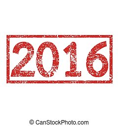 Stamp text 2016