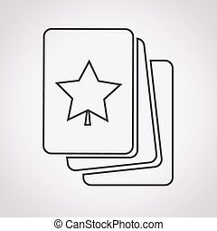 playing cards icon